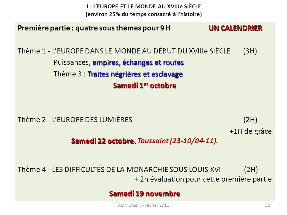 Samedi 22 octobre. Toussaint (23-10/04-11).