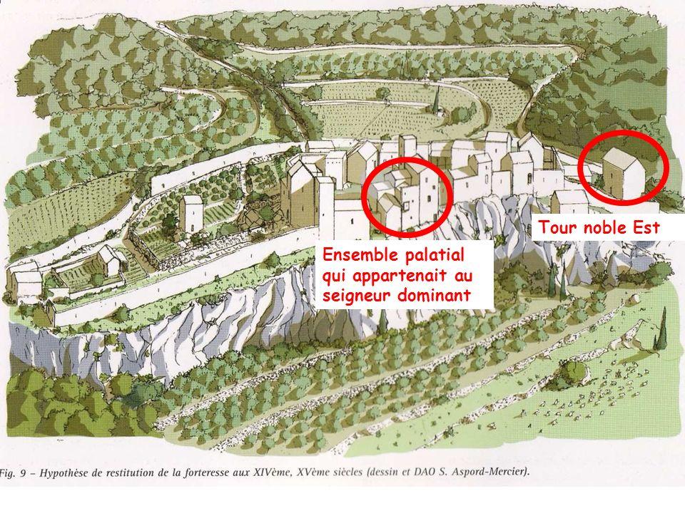 Tour noble Est Ensemble palatial qui appartenait au seigneur dominant