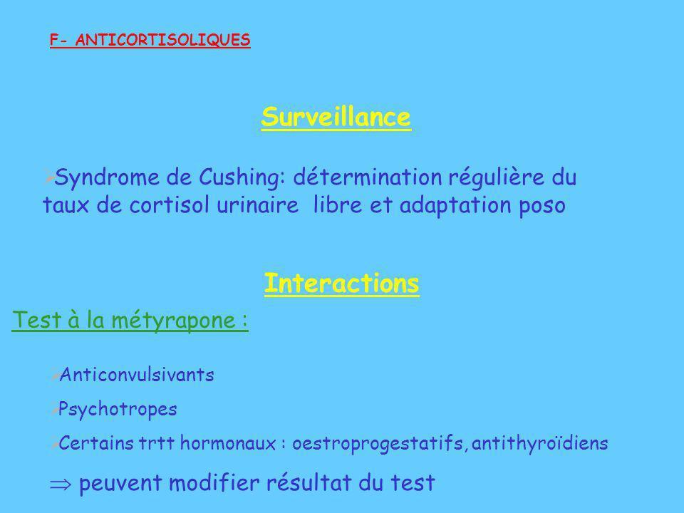 Surveillance Interactions