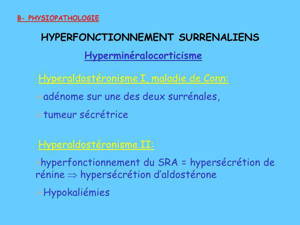 HYPERFONCTIONNEMENT SURRENALIENS