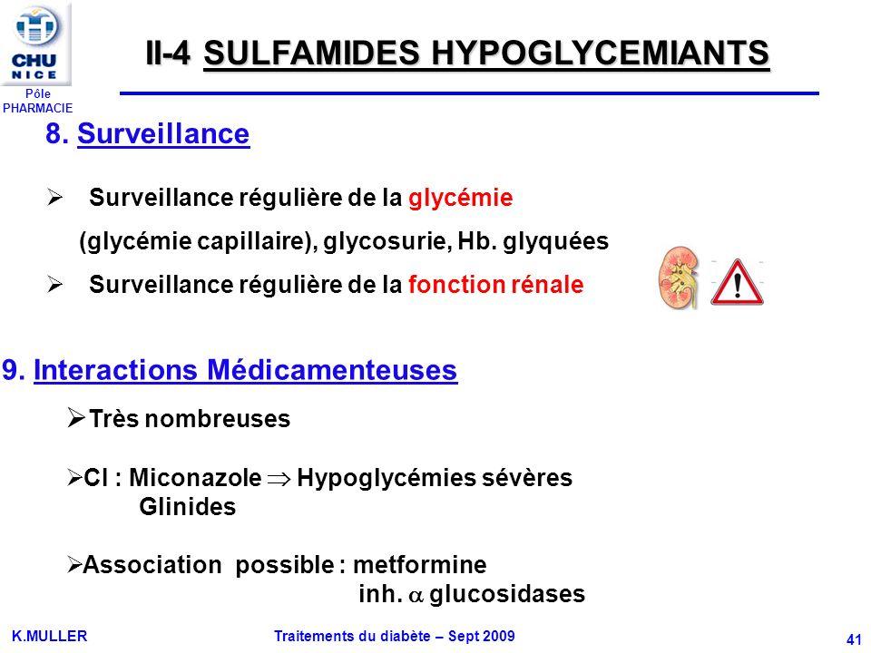 9. Interactions Médicamenteuses