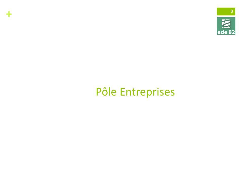 3 métiers / 3 pôles L'aménagement du territoire et les études