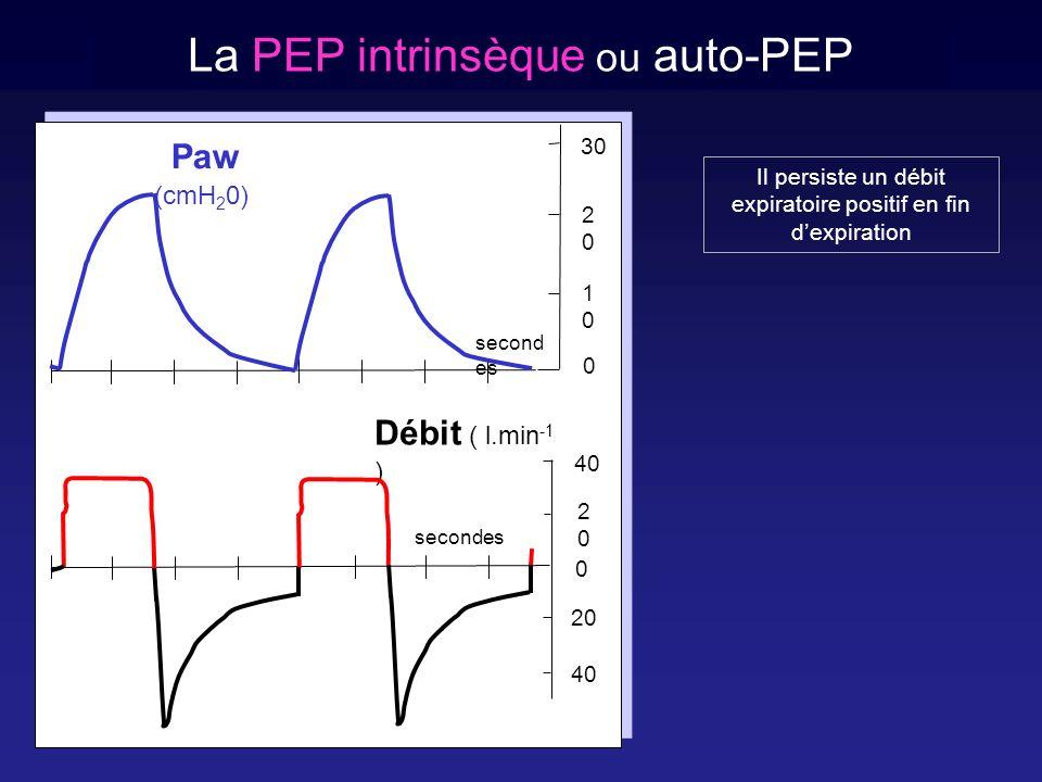 La PEP intrinsèque ou auto-PEP