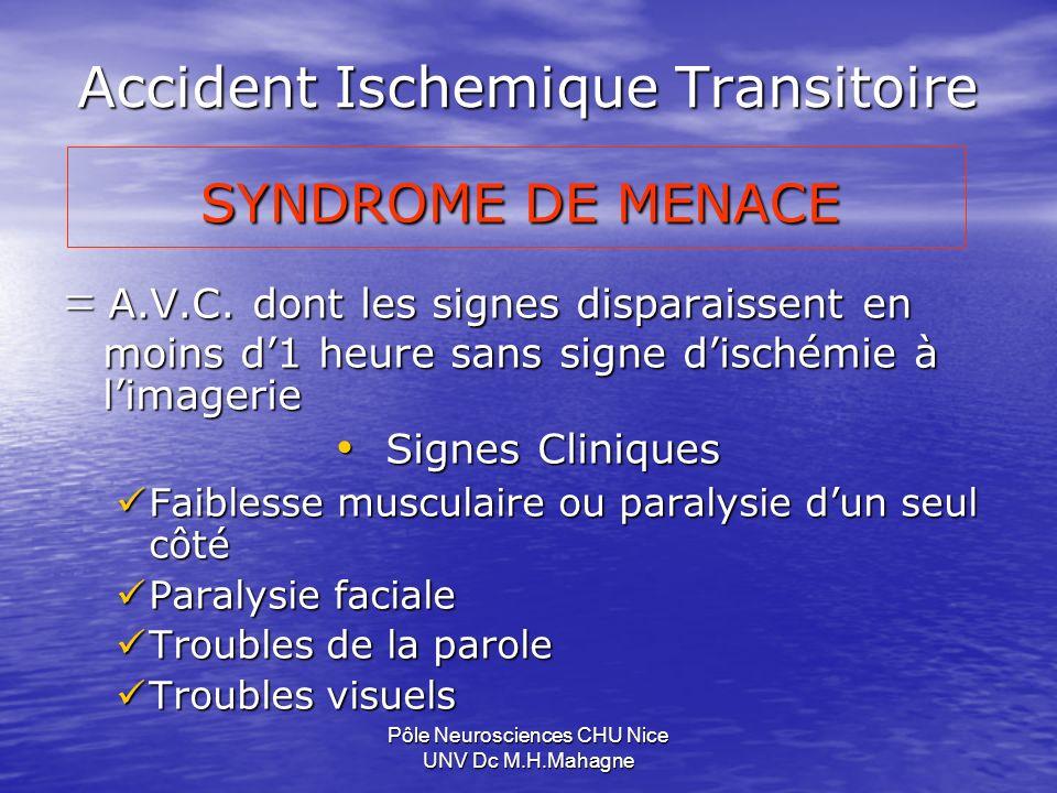Accident Ischemique Transitoire