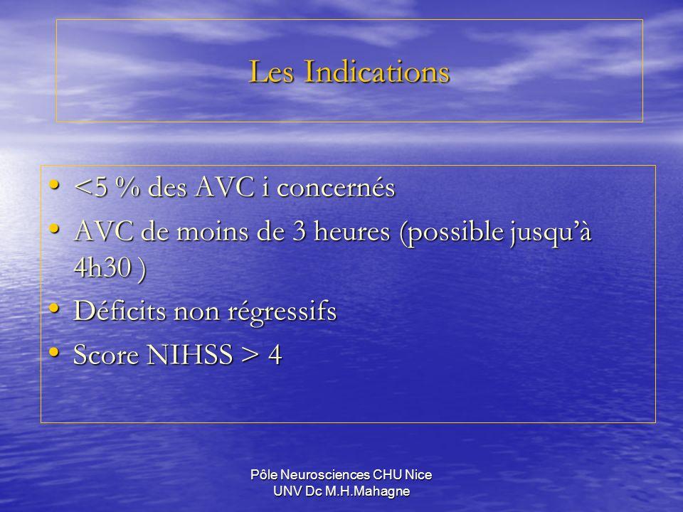 Pôle Neurosciences CHU Nice UNV Dc M.H.Mahagne
