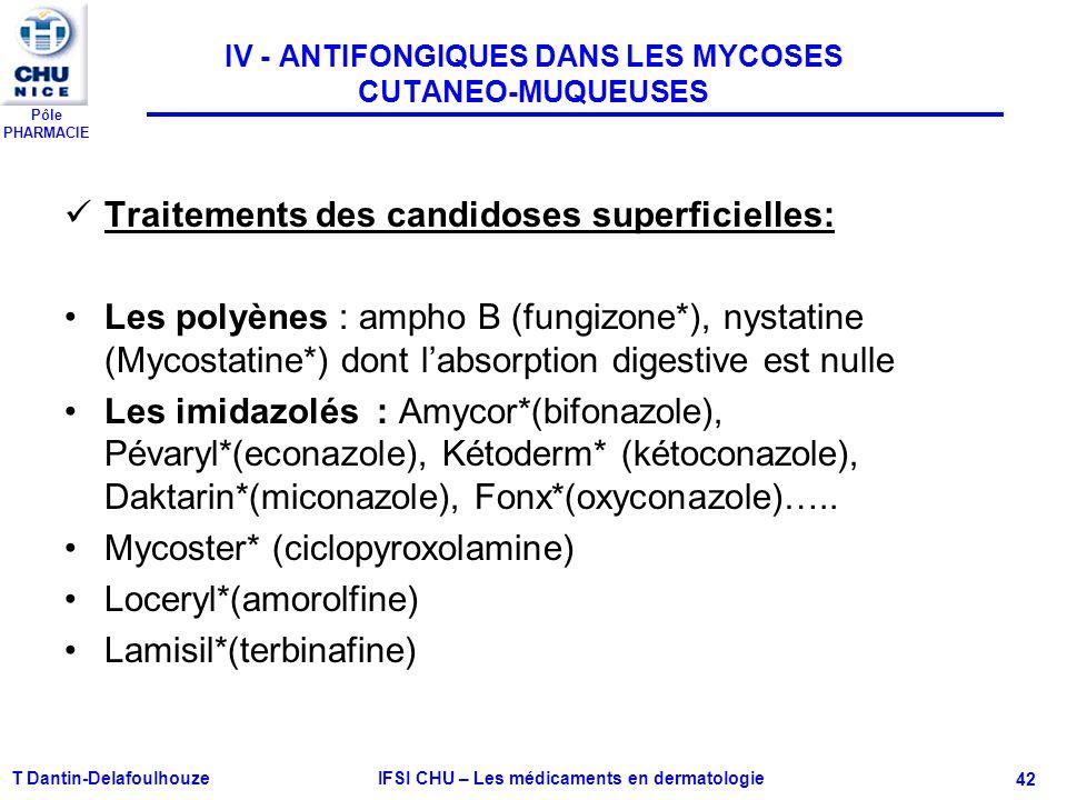 administration mycostatine du nourrisson