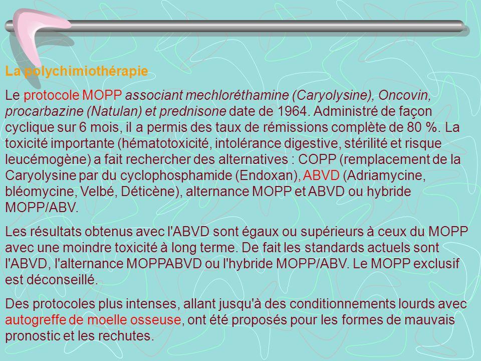 La polychimiothérapie