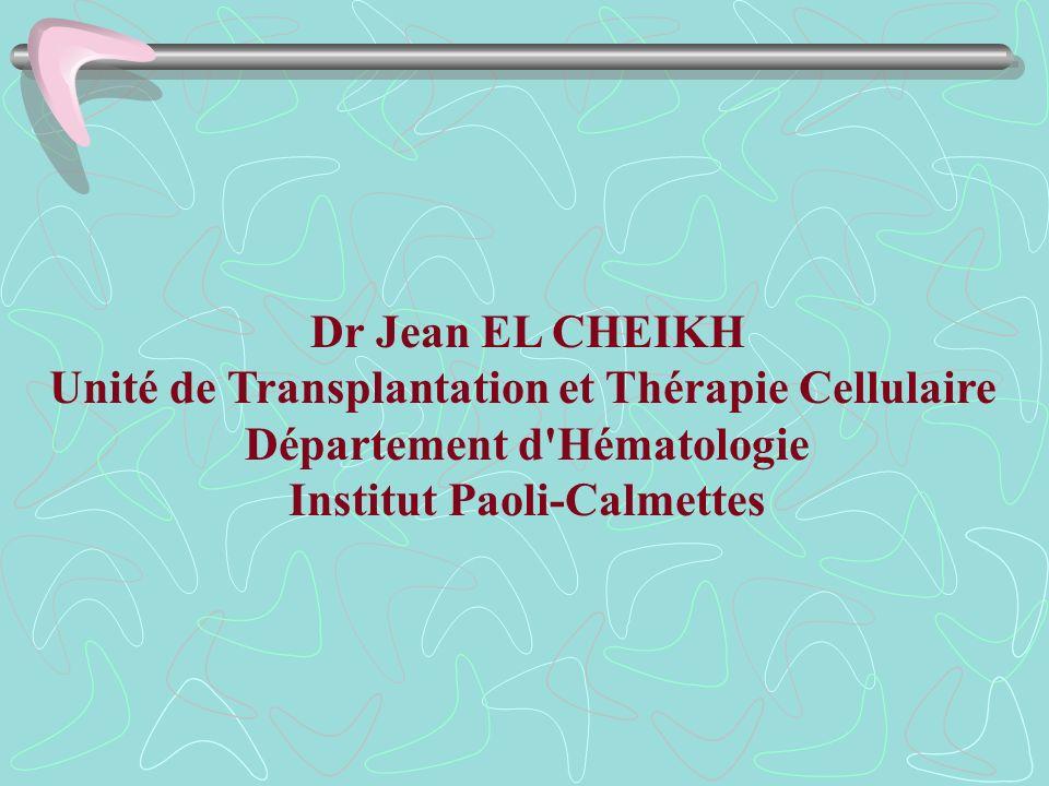 Unité de Transplantation et Thérapie Cellulaire