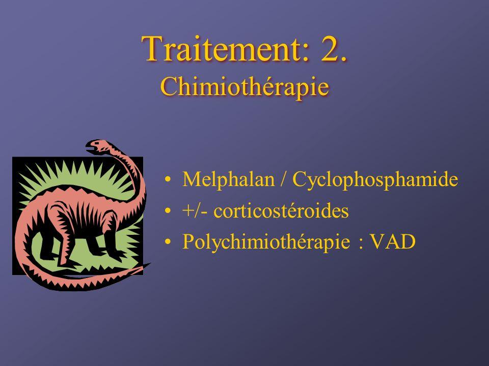 Traitement: 2. Chimiothérapie
