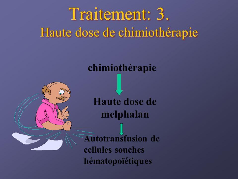 Traitement: 3. Haute dose de chimiothérapie
