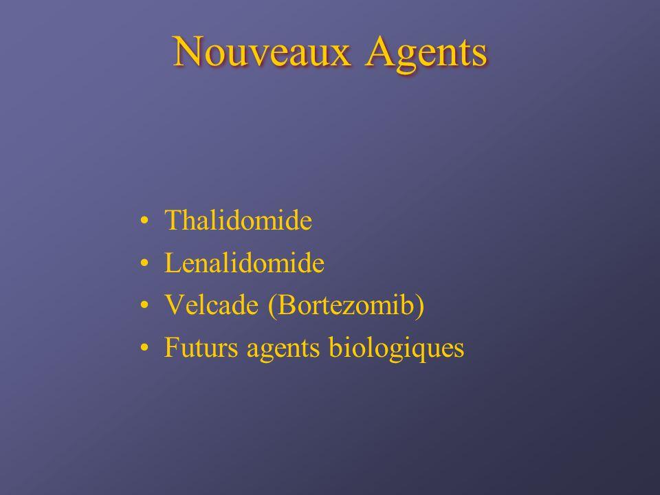 Nouveaux Agents Thalidomide Lenalidomide Velcade (Bortezomib)
