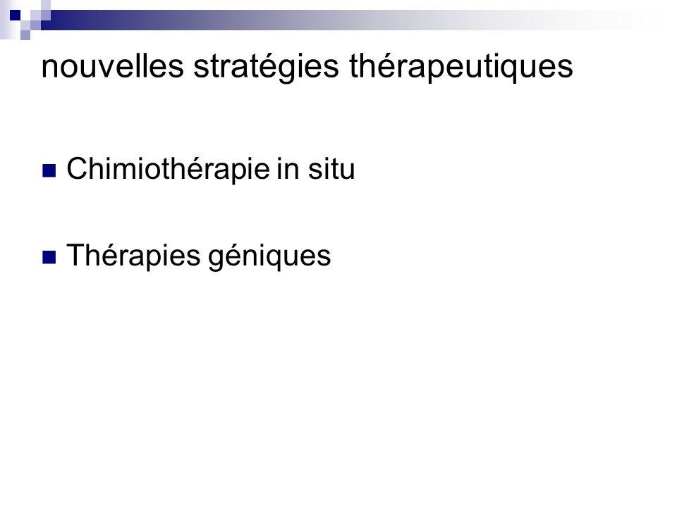 nouvelles stratégies thérapeutiques