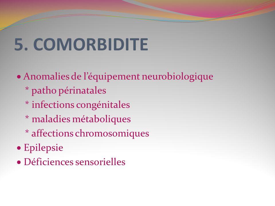 5. COMORBIDITE