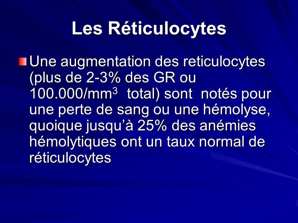 Les Réticulocytes