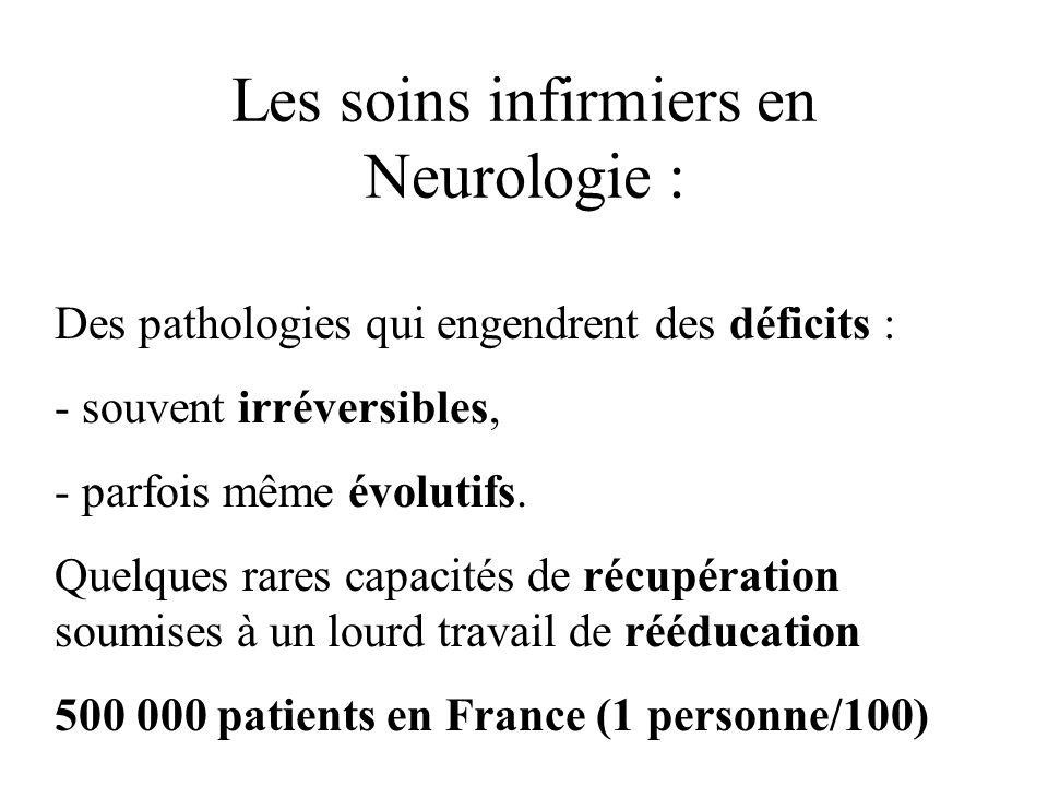 Les soins infirmiers en Neurologie :