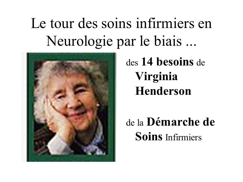 Le tour des soins infirmiers en Neurologie par le biais ...