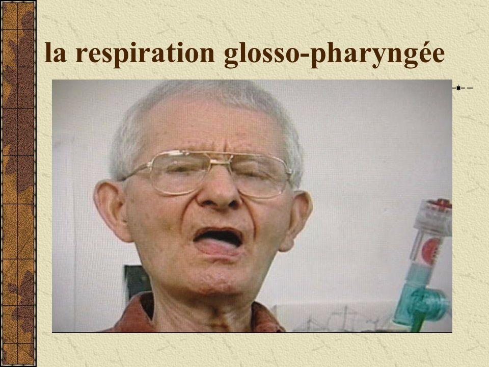 la respiration glosso-pharyngée