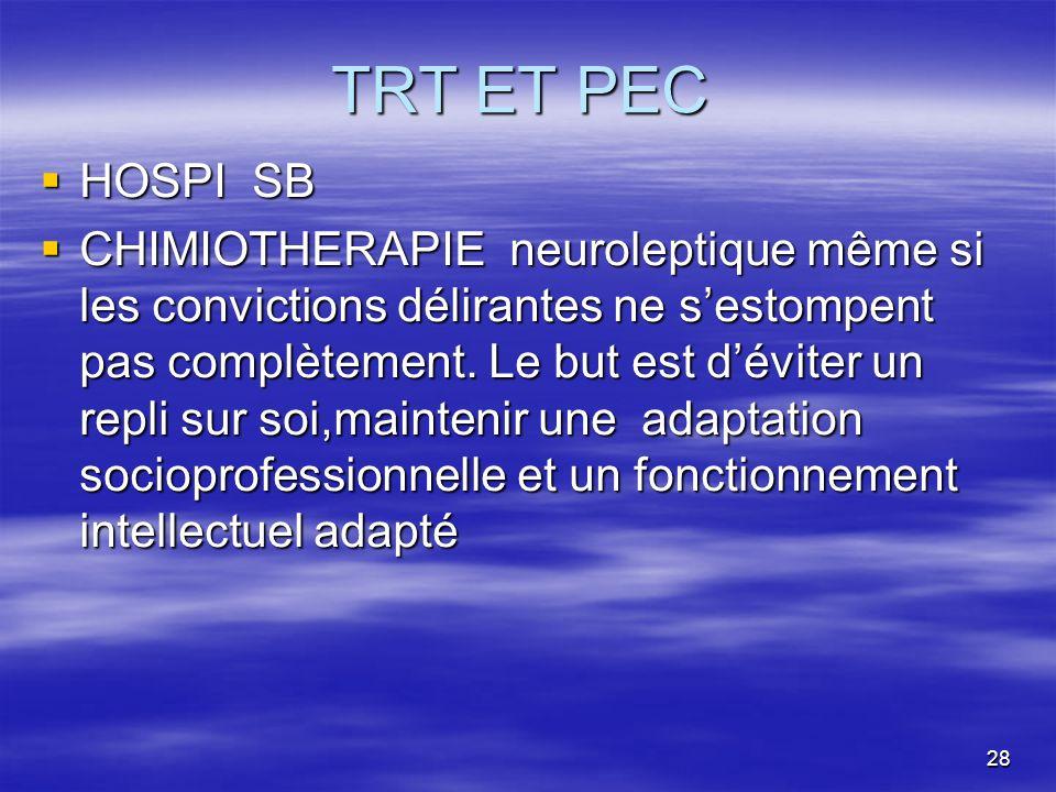 TRT ET PEC HOSPI SB.