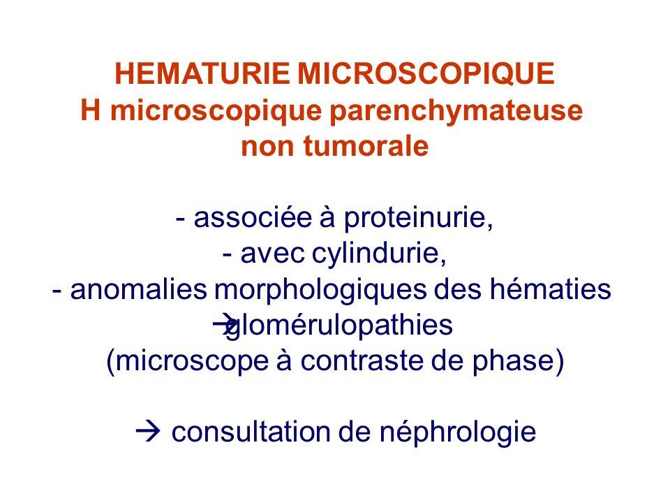 H microscopique parenchymateuse