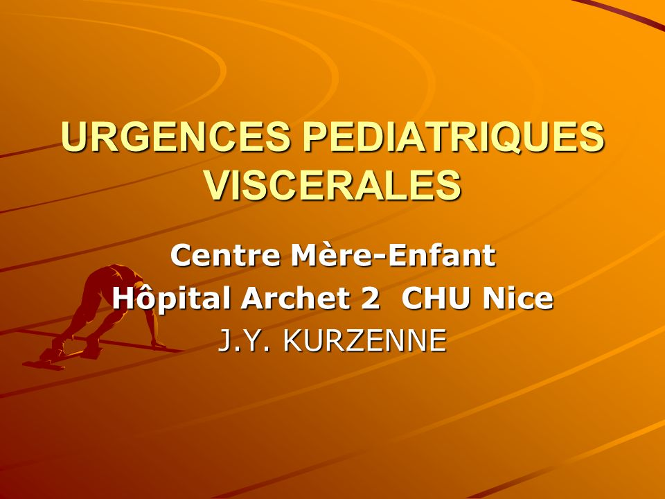 URGENCES PEDIATRIQUES VISCERALES