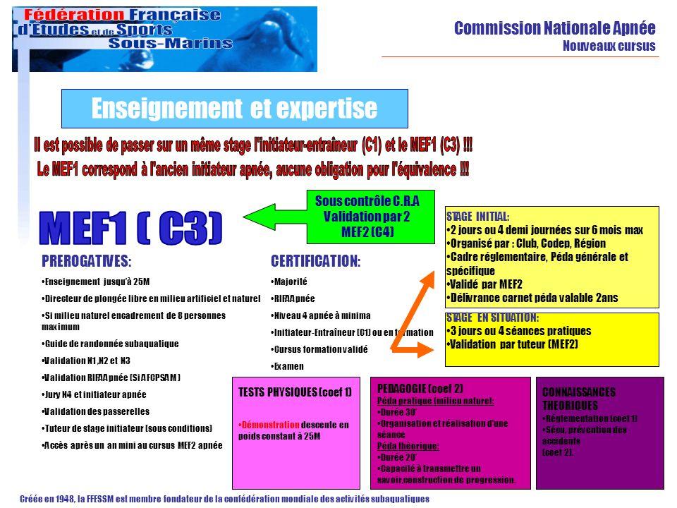 Enseignement et expertise