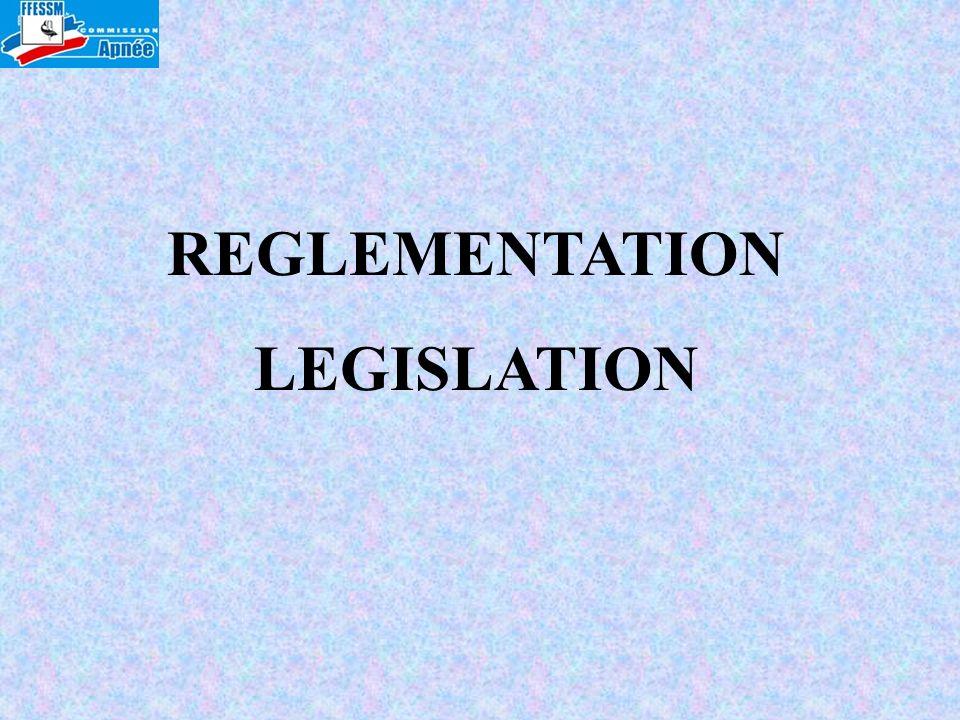 REGLEMENTATION LEGISLATION