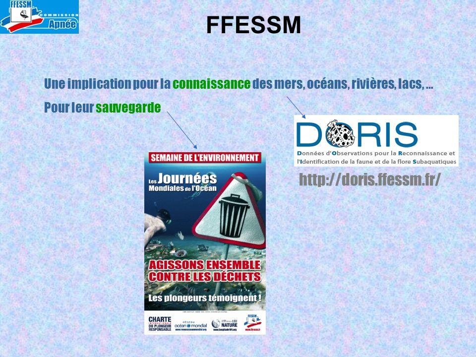 FFESSM http://doris.ffessm.fr/