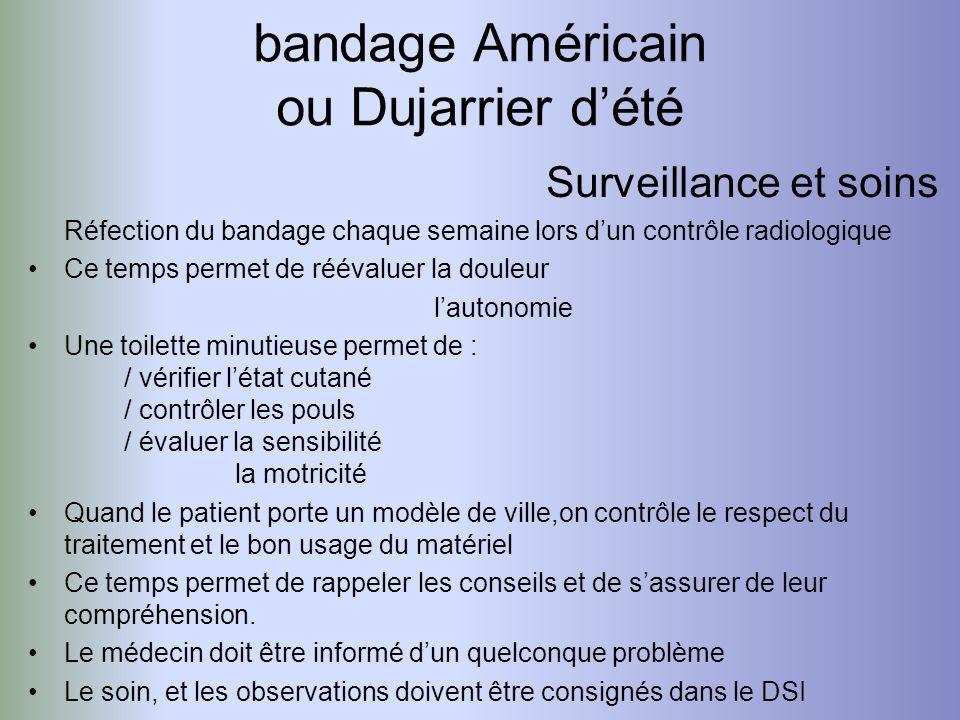 bandage Américain ou Dujarrier d'été
