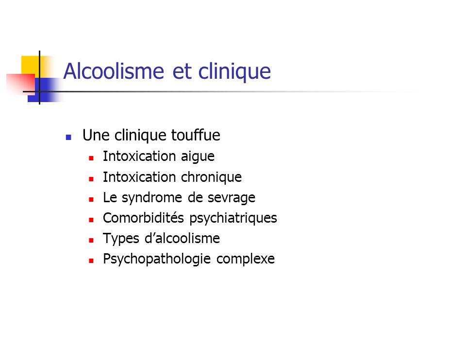 Alcoolisme et clinique