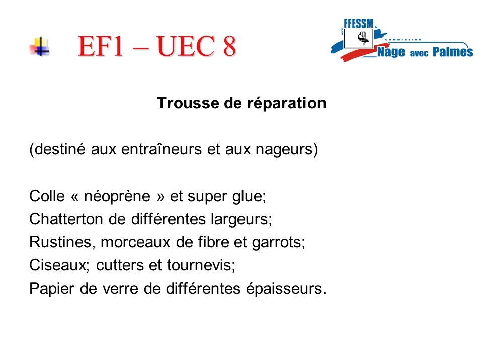 EF1 – UEC 8 Trousse de réparation