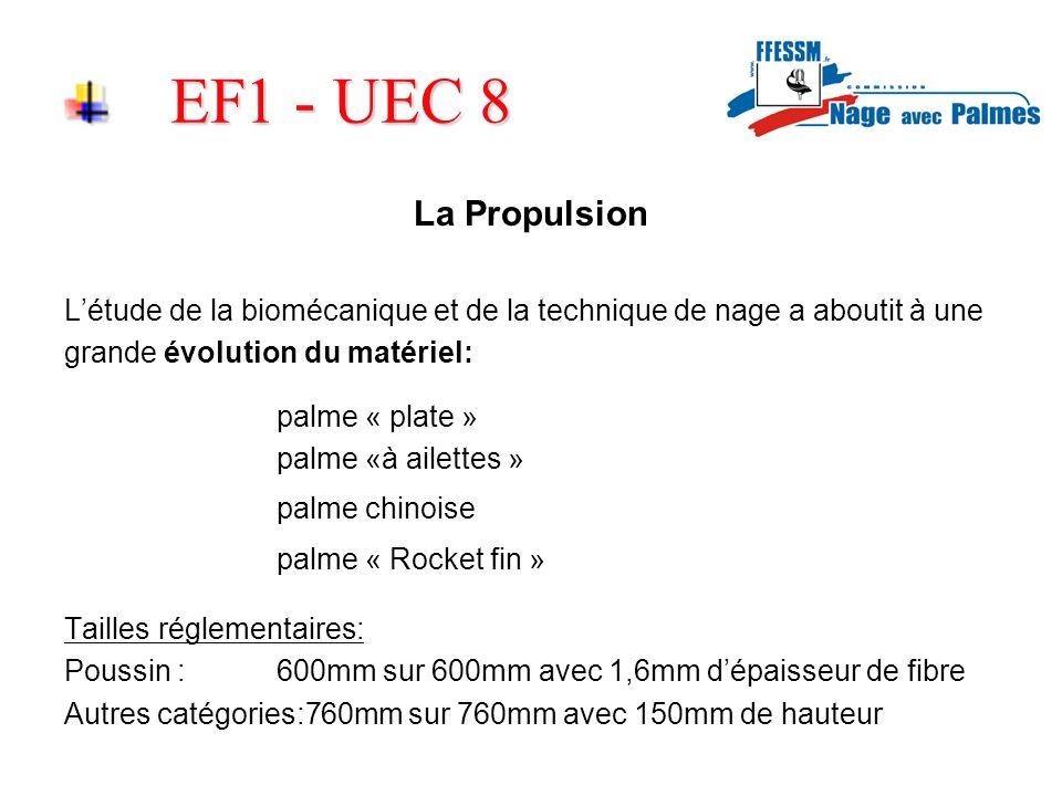 EF1 - UEC 8 La Propulsion palme « Rocket fin »