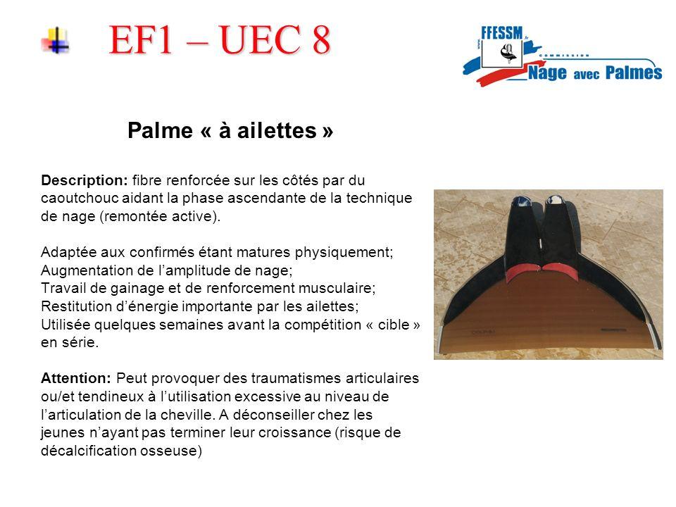 EF1 – UEC 8 Palme « à ailettes »
