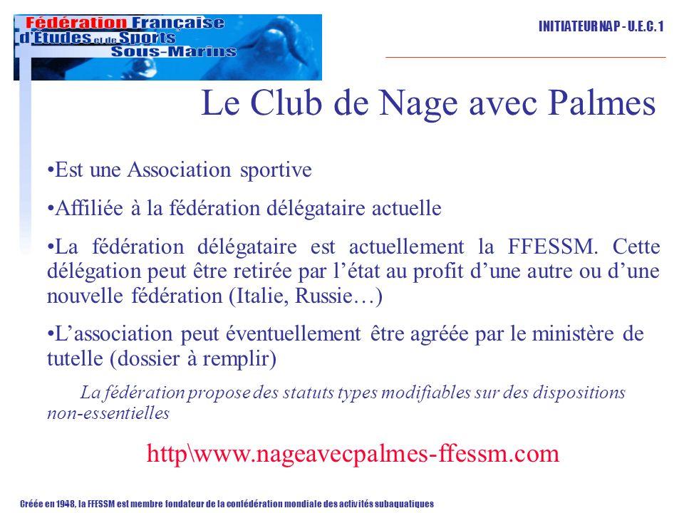 Le Club de Nage avec Palmes
