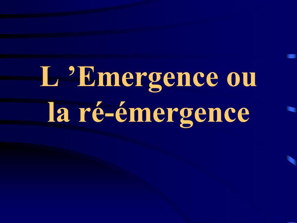 L 'Emergence ou la ré-émergence