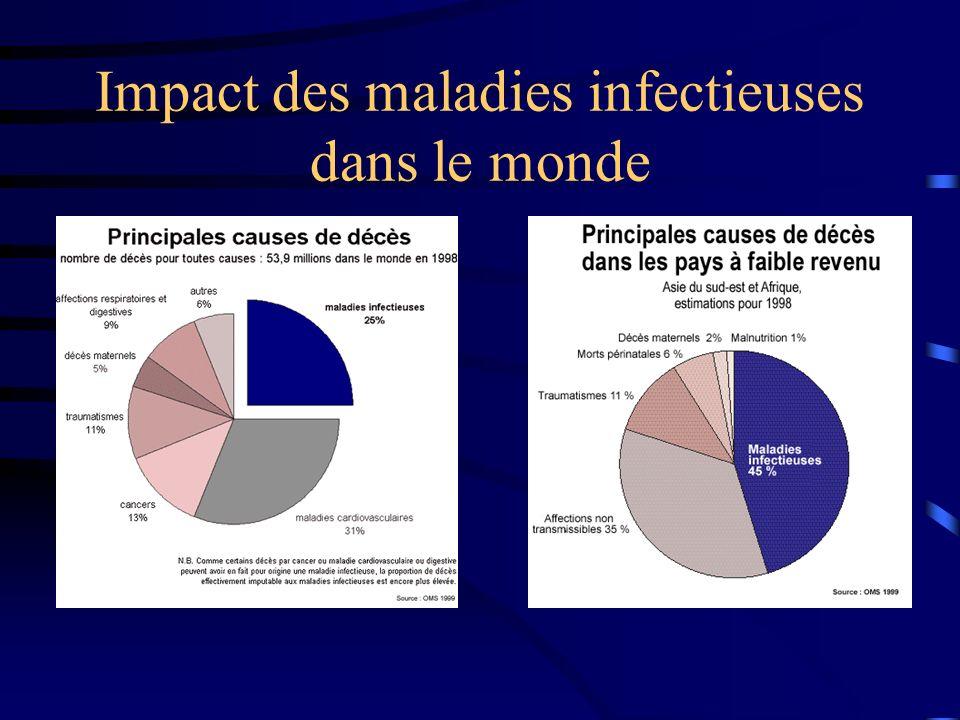 Impact des maladies infectieuses dans le monde
