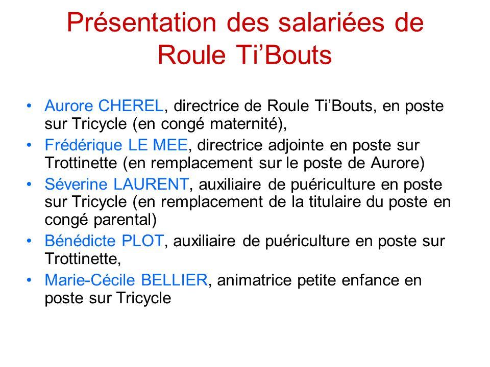Présentation des salariées de Roule Ti'Bouts