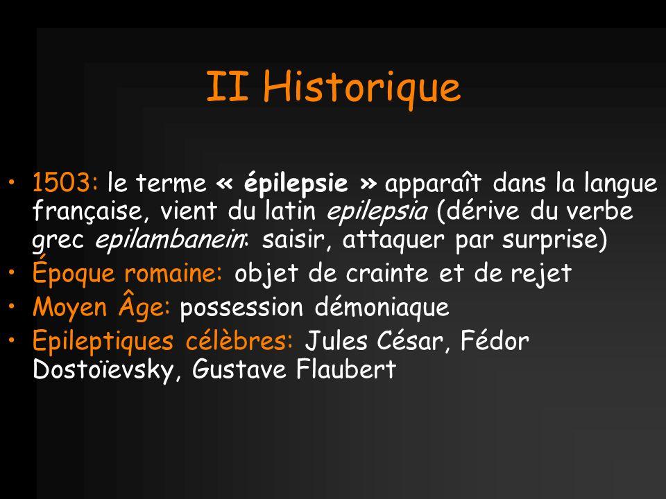 II Historique