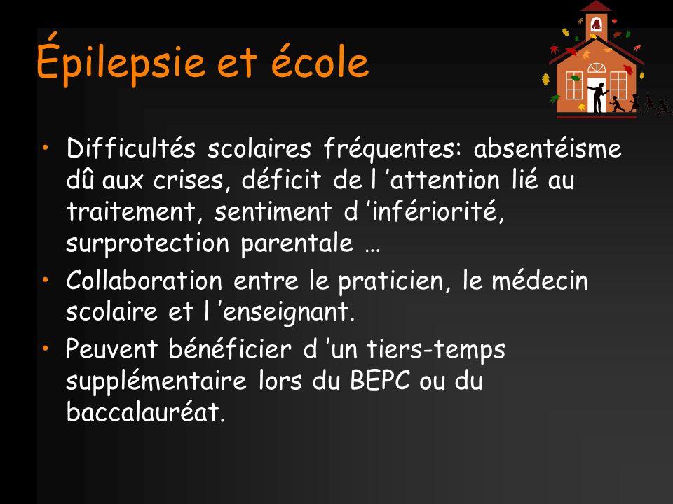 Épilepsie et école