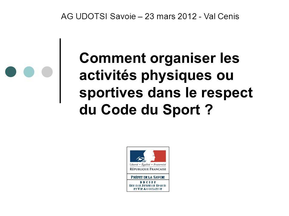 AG UDOTSI Savoie – 23 mars 2012 - Val Cenis