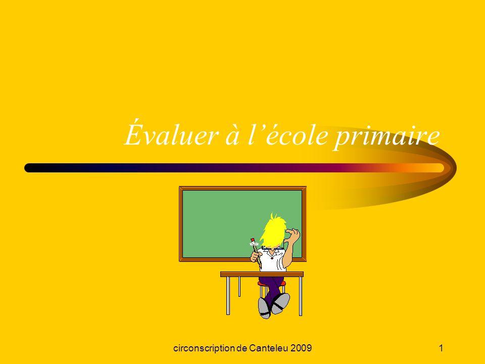 Évaluer à l'école primaire