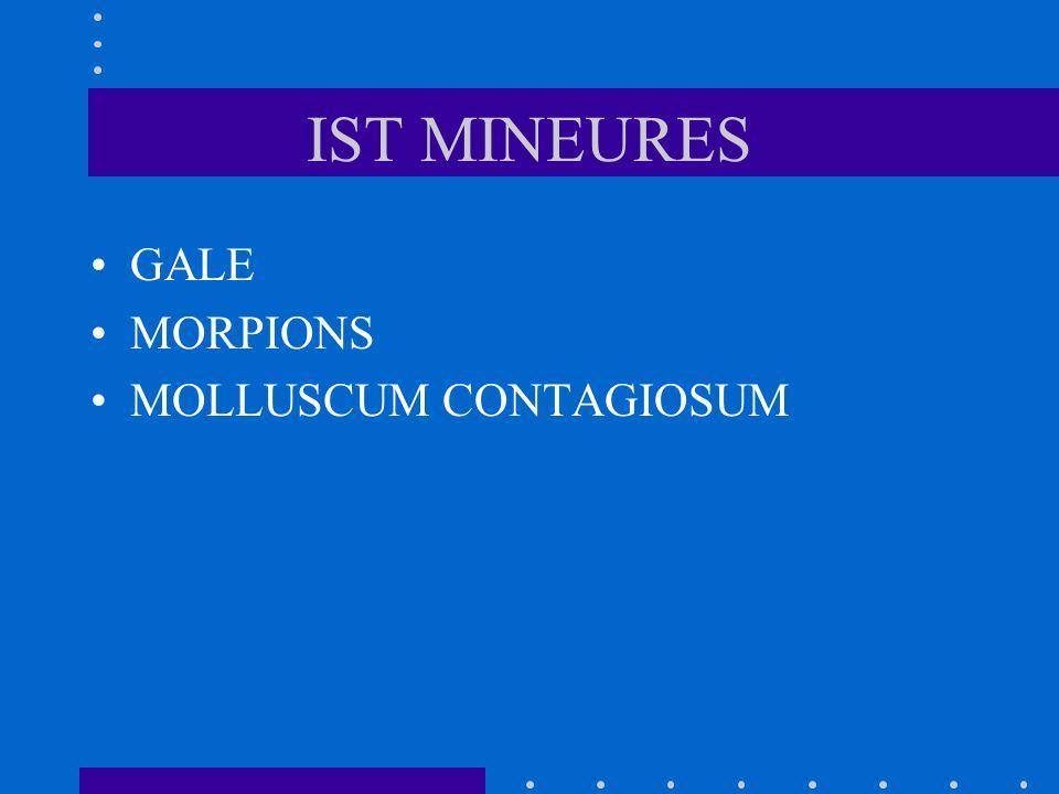 IST MINEURES GALE MORPIONS MOLLUSCUM CONTAGIOSUM