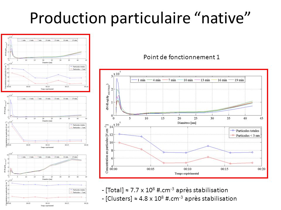 Production particulaire native