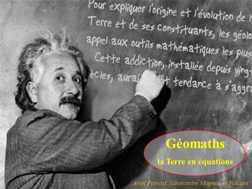 Géomaths la Terre en équations