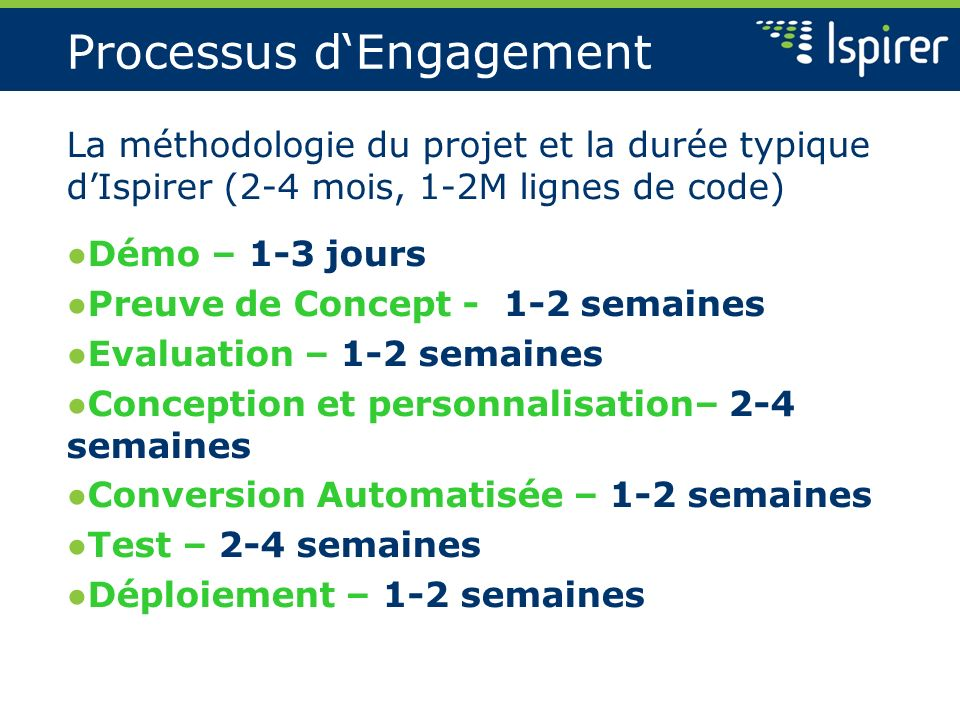 Processus d'Engagement
