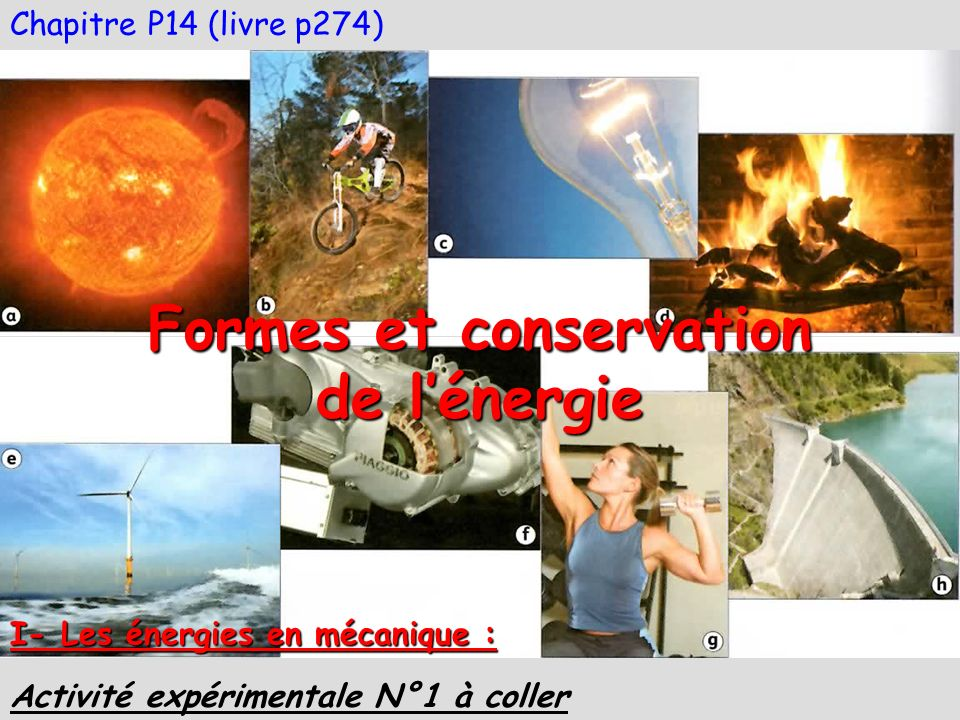 Formes et conservation