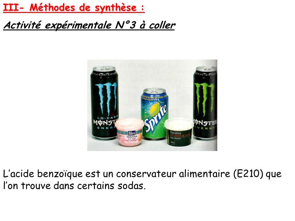 III- Méthodes de synthèse :