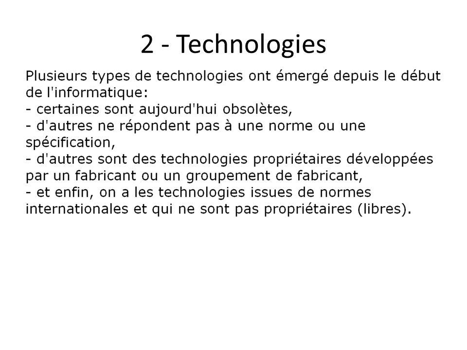 2 - Technologies