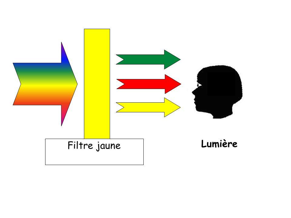 Lumière Filtre jaune 24