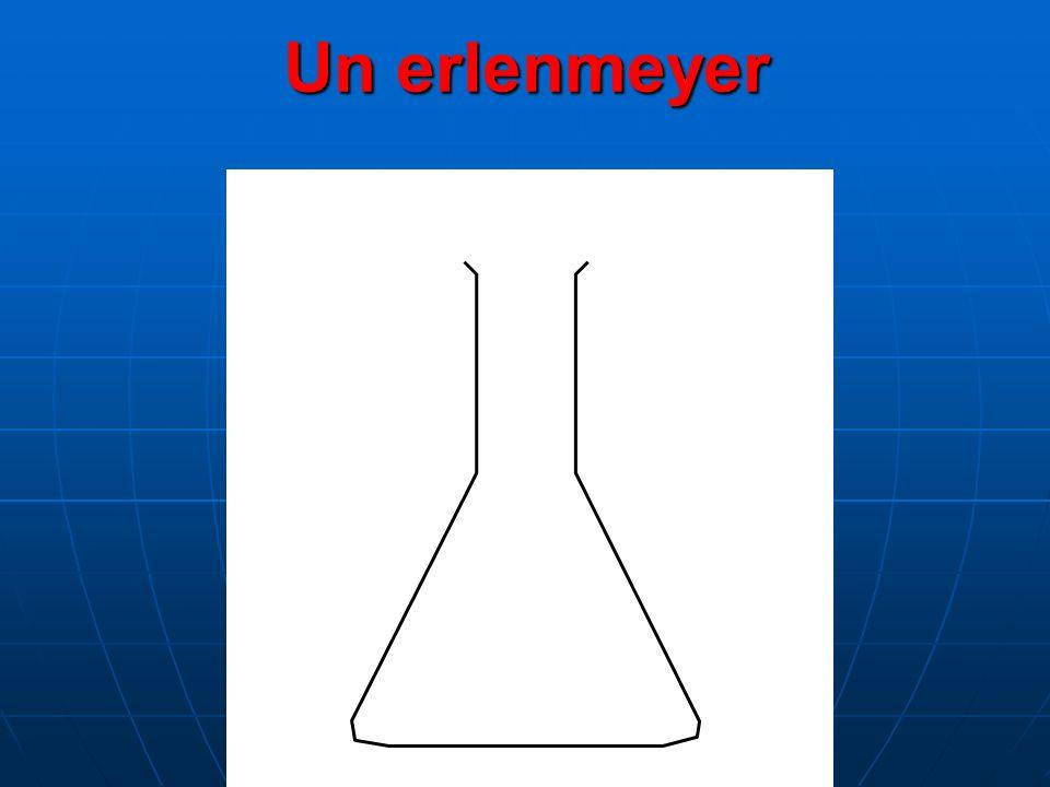 Un erlenmeyer
