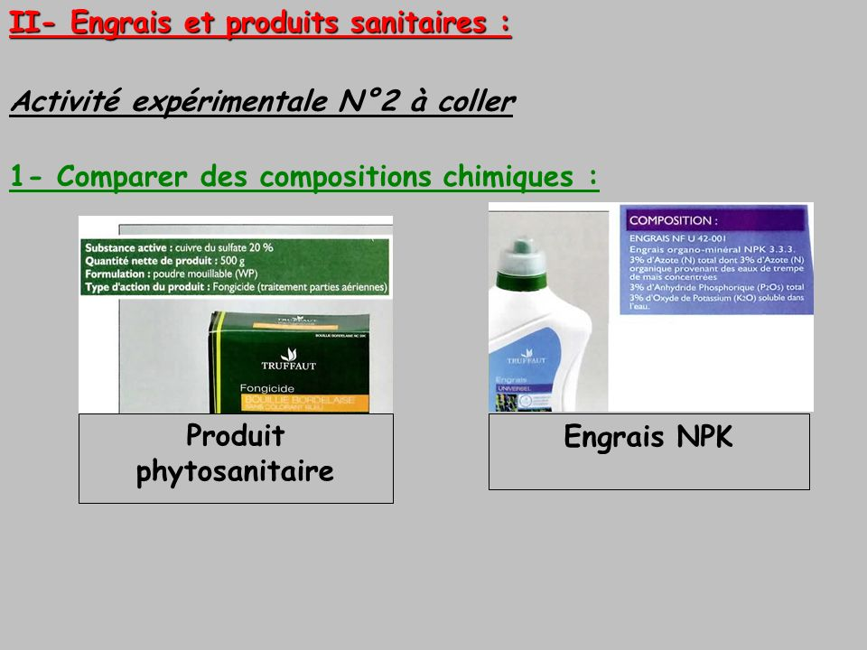Produit phytosanitaire